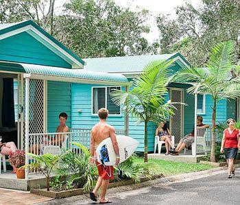 byron bay tourist village