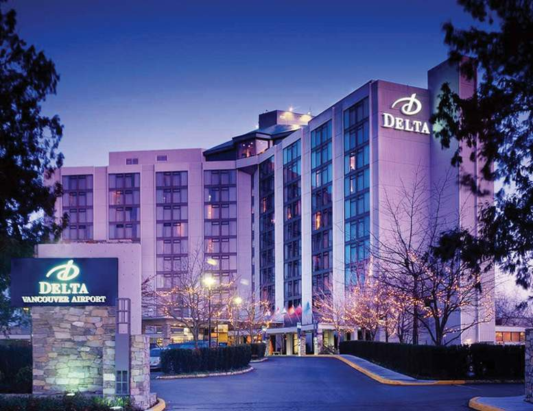 pacific gateway hotel at vancouver airport (ex del