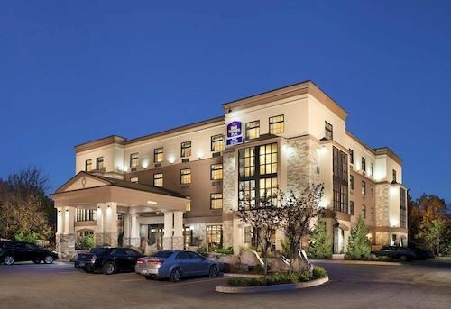 best western plus perth parkside inn and spa
