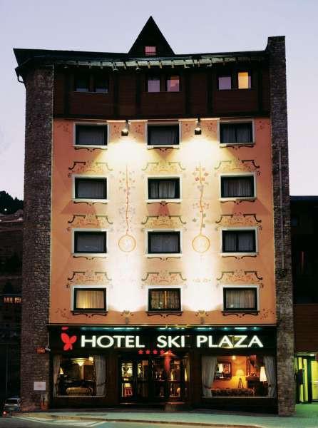 ski plaza