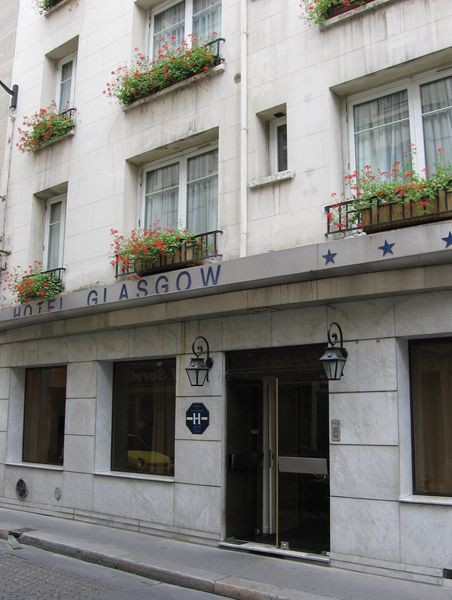 Hotel Glasgow Monceau Paris