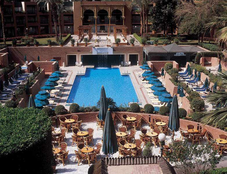 CAIRO MARRIOTT HOTEL AND OMAR KHAYYAM CASINO
